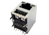 Interconnect Input/Output Connectors -- RJ45 with USB 2.0 Jacks - Image