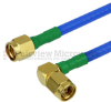 SMA Male to RA SMA Male Cable FM-F141 Coax in 36 Inch and RoHS with LF Solder -- FMC0204141LF-36 -Image
