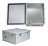 14x12x6 Inch 120 VAC Steel Weatherproof Enclosure with Heating System -- NBS141206-1H0 -- View Larger Image