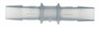 Straight Connector, Polyethylene, 3/8