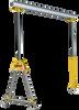 Modular Rolling Tri Gantry Crane -- View Larger Image