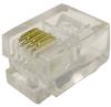 6P4C RJ11 Modular Data Plugs, 100pcs. -- 83-264 - Image