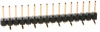 10 Pos. Male SIL Vertical SMT Conn. (P+P) -- M20-8771042P - Image