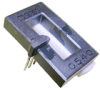CSL Series miniature open-loop current sensor, 60 A sensed current, sink or source output, through-hole, operates on ac or dc current, bottom mount -- CSLS6B60
