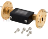 WR-22 Waveguide Attenuator Fixed 26 dB Operating from 33 GHz to 50 GHz, UG-383/U Round Cover Flange -- FMWAT1004-26 -Image