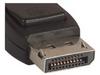 Low Profile DisplayPort Cable Male-Male, Black - 1.0m -- DPCAMMSB-1 -Image