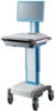 Advantech Medical Cart with the Motor Lifter to Adjust Height Electrically -- AMiS-50 -Image