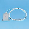 MAMAC SYSTEMS TE-707-A-8-A-2 ( POLYCARB PLASTIC ENCLOSURE, 6 FEET ARMORED CABLE ) -Image