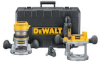 DEWALT 1-3/4HP Router Kit with Fixed and Plunge Base -- Model# DW616PK