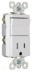 Combination Switch/Receptacle -- TM838-TRWCC -- View Larger Image