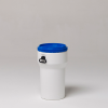 50 Liter Nestable Plastic Drum -- 7250 - Image