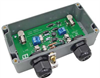 24VDC Weatherproof PTZ Video Camera Lightning Protector - Grounded BNC Connectors -- AL-VDP024DW