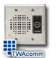 Valcom Rugged Door Entry Speaker with Call Button -- S-570