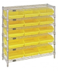Bins & Systems - 4'' Shelf Bins (QSB Series) - Complete Bin Center - WR6-36-1236-109 - Image