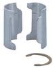 Shelf Split Sleeve,Aluminum,PK8 -- 19N118