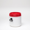 26 Liter Total Opening Plastic Drum -- 6947 - Image