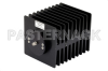 High Power 100 Watts RF Load Up To 2 GHz With SMA Female Input Square Body Black Anodized Aluminum Heatsink -- PE6043 -Image