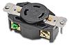 30A Heavy-duty Single Receptacle: locking, 125VAC, NEMA L5-30 -- 70530FR