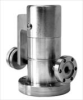 Manual Right Angle Leak Valve -- Conflat Flanged