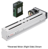 Linear Actuator (Slide) - Reversed Motor (Left Side), Y-axis Table with Built-in Controller (Stored Data) -- EAS6LY-E025-ARMKD-3