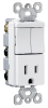 Combination Switch/Receptacle -- TM8118-WCC -- View Larger Image