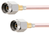 2.92mm Male to 2.92mm Male Cable .118 Coax in 18 Inch -- FMCA2094-18 -Image
