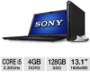 Sony VAIO VPCZ212GX/B Laptop Computer - Intel Core i5-2410M -- VPCZ212GX/B