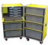Double Upright Athletic Equipment Shipping Cases - Image