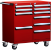 Mobile Compact Cabinet with Partitions -- L3BED-3403L3 -Image