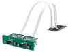 Isolated CANBus, 2-Ch, DB9, PCIe I/F -- MOS-1130Y-0201E - Image