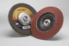 3M Cubitron II 967A Type 29 Coated Ceramic Aluminum Oxide Flap Disc - 40 Grit - 7 in Diameter - 55626 -- 051141-55626 - Image