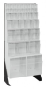 Bins & Systems - Clear Tip Out Bins (QTB Series) - Floor Stands - QFS148-38