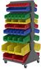 Lean Panel™ Single Sided Floor Rack -- 30652