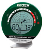 RH35 - Extech RH35 Desktop Thermohygrometer with Sound and LED Alert -- GO-39759-03