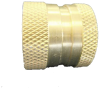 FITTINGS AND CONNECTORS, GARDEN HOSE FITTINGS, FEMALE GARDEN HOSE COUPLER -- 32-077GH - Image