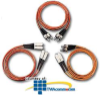 Leviton Multimode Fiber Optic Cable Assembly - 62.5 Micron.. -- 62DST-M