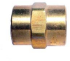 Brass Pipe Female Coupler -- BFC-16