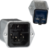 Power Entry Connectors - Inlets, Outlets, Modules -- 486-1075-ND -Image