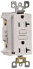 GFCI RECEPTACLE WITH LOCK OUT 20 AMP ALMOND -- IBI469809