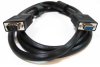 100ft HD15 SVGA M/F Monitor Extension Cable with Ferrite Bead -- 10H1-202HD-F - Image