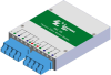 10G SR/SW Quad Port Fiber Bypass Module