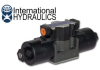 Hydraulic Solenoid Valve - 12 VDC Closed Center Motor Spool -- IH-D05S-2F-12D-35