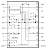 Low-Voltage, Combination Single-Ended 8-to-1 Differential 4-to-1 Multiplexer -- MAX4598