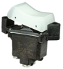 TP Series Rocker Switch, 2 pole, 2 position, Screw terminal, Flush Panel Mounting -- 2TP201-2 -Image