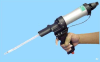 Two Part 50cc Pneumatic Cartridge Dispenser Gun