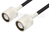 SC Male to SC Male Cable 60 Inch Length Using RG58 Coax, RoHS -- PE3104LF-60 -Image