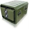 Aluminum Air Conditioned Rack Case -- Defender Series