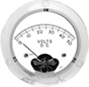 Clear Plastic Analog Panel Meters -- 2735