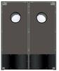 Restaurant Traditional Core Door -- Chase SC5022 PreConfigured Wood Core Door
