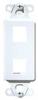 Datacommunication Face Plate -- KS226-BK - Image